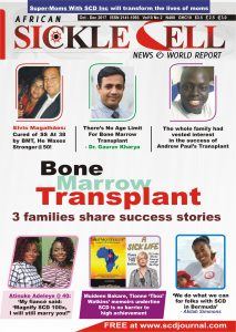 SICKLE CELL NEWS, OCTOBER - DECEMBER 2017
