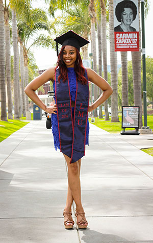 College Graduate Mikeia Green